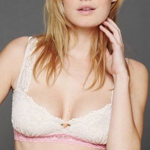 Intimately free people demi balconette bralette
